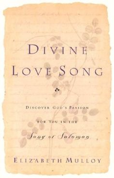 Divine Love Song: Discover God's Passion for You in the Song of Solomon by Elizabeth Mulloy, http://www.amazon.com/dp/0800793315/ref=cm_sw_r_pi_dp_s8Bzrb0DNPHWV