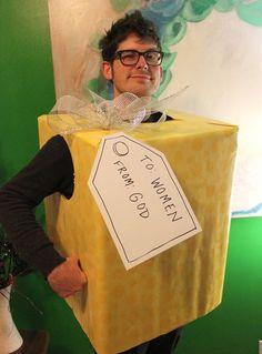 Faschingskostüme Männer handgemachte ideen verpackung geschenk