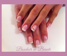 Pink french manicure! #french_manicure #nailart #nails #nailswag #nailsalon #kalamaria #skg #thessaloniki #beautysalon #beauty #naildesign #nailpolish #boudoirdebeaute #boudoir_de_beaute #manicure #nails_greece