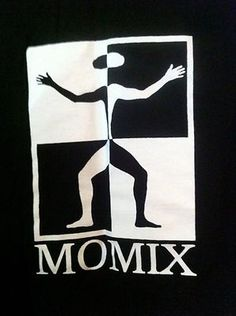 Momix Dance Crew Tee T Shirt L Collectable Illusionist Modern Rare Mens Womens