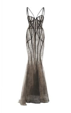 Beaded Lace Corset Gown by MARCHESA for Preorder on Moda Operandi - customdresses Pretty Dresses, Beautiful Dresses, Marchesa Gowns, Lace Corset, Corset Dresses, Bustier Dress, Corset Outfit, Alternative Fashion, Dream Dress