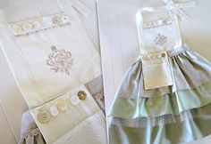 Michael Miller Cotton Couture: Three-Tier Ombre Apron | Sew4Home