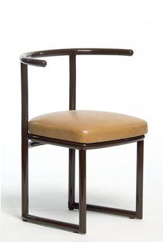 Armchair, Robert Mallet-Stevens, c. Bauhaus, Constructivism, International Style, Man Room, Modernism, Architecture Art, Art Nouveau, Armchair, Furniture Design