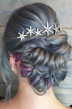 30 Great Hair Updos for Christmas ★ Colorful Updo Hairstyles for Winter Holidays Picture 5 ★ See more: http://glaminati.com/great-hair-updos-christmas/ #updohair #christmashairstyles