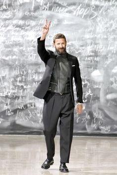 Saint Laurent Fall 2012 Menswear Fashion Show - Stefano Pilati Fashion Week Hommes, Mens Fashion Week, Fashion News, Fashion Show, Fashion Outfits, Fashion Design, Men's Fashion, Fashion Styles, Fashion Menswear