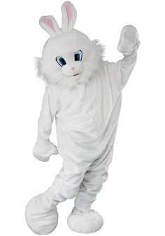 Mascot Bunny Costume Deluxe