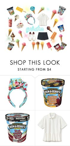 """""""gelato"""" by swanheartsdream on Polyvore featuring Dolce&Gabbana, Disney, Lacoste and Grenson"""