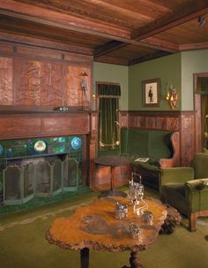 Duluth Living Room, Minneapolis Institute Of Arts (John S. Bradstreet  Designed).
