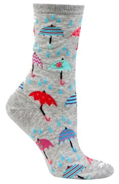 The Sock Drawer's unique selection of colorful, crazy socks in every size and shape imaginable will breathe life into your wardrobe! Funky Socks, Crazy Socks, Cute Socks, Odd Socks, Leggings, Tights, Colorful Umbrellas, Unique Socks, Gamine Style