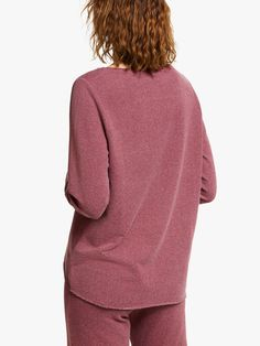 Buy M Life Nirvana Slogan Yoga Sweat Top, Purple, S from our Women's Shirts & Tops range at John Lewis & Partners. Free Delivery on orders over Yoga Sweat, Fitness Activities, Yoga Session, Women's Shirts, Neck Pattern, Nirvana, French Terry, John Lewis, Slogan
