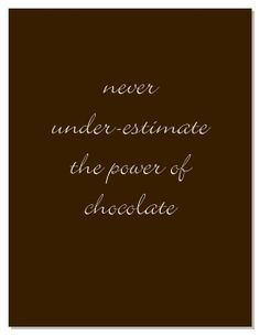 Never under-estimate the power of chocolate. #chocolade #relatiegeschenken #geschenken