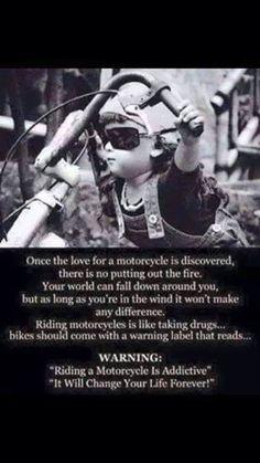 Truth! Harley-Davidson of Long Branch www.hdlongbranch.com Biker Chick, Biker Girl, Biker Baby, Hd Fatboy, Motorcycle Humor, Motorcycle Art, Hyabusa Motorcycle, Motorcycle Couple, Motorcycle Stickers