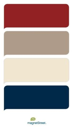 Color Boutique Brick, Ashwood, Champagne, and Navy Wedding Color Palette - custom color palette crea Living Room Red, Living Room Colors, Living Room Kitchen, Living Room Designs, Kitchen Decor, Red Master Bedroom, Brick Bedroom, Bedroom Black, Exterior Paint Schemes