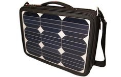 solar PV cells to help power your laptop are built into this laptop carrying case via treehugger