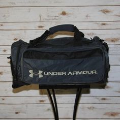 Under Armour Large Duffle Black Great condition. Little wear on bottom. Large team bag. All working parts. Under Armour Bags Backpacks