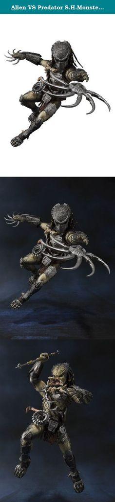 Alien VS Predator S.H.MonsterArts Predator Wolf heavy equipment Ver. It's shipped off from Japan.