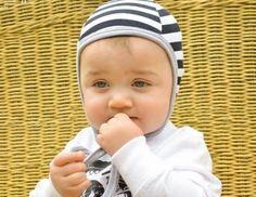 black white stripe baby pilot hat emmifaye hat hat by emmifaye 4b796d1f590