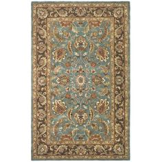 You'll love the Cranmore Hand-Tufted Blue/Brown Area Rug at Wayfair - Great Deals on all Rugs products with Free Shipping on most stuff, even the big stuff.