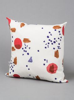 Couverture and The Garbstore - Homeware - Tas-Ka - Screen Print Cotton Square Cushion