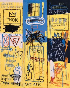 Jean-Michel Basquiat, Charles the First, 1982