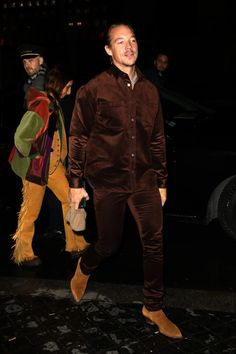 Further proof that Diplo is just a big teddy bear. Big Teddy, Teddy Bear, Hot Cowboys, Best Dressed Man, Famous Men, Outfit Combinations, Haircuts For Men, Fashion Branding, Business Casual