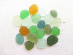 Bulk Lot of 20 // Flawless Tiny Small // EARTH TONES Genuine Sea Glass by GitanaDeLaPlaya, $10.99