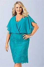 Sara Lace Sequin Dress