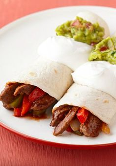 15 Minute Beef Fajitas – These beef fajitas will be a family favorite because they're delicious. And they'll be a favorite of yours because they're ready to serve in 15 minutes.
