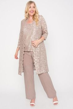 Plus Size Women S Dressy Dresses Product Mother Of The Bride Trouser Suits, Mother Of The Bride Fashion, Mother Of The Bride Plus Size, Mother Of Bride Outfits, Plus Size Dresses, Plus Size Outfits, Wedding Pantsuit, Plus Size Evening Gown, Dressy Dresses
