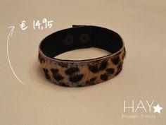 Brede armband | Tijgerprint