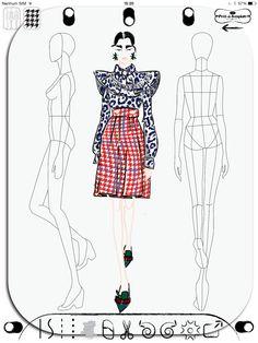 Miu Miu Fall 2015 Prêt-à-Porter made with Prêt à Template App (www.pretatemplate.com)