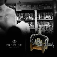 great idea for the man in your life prestige decanter hand blown delicately