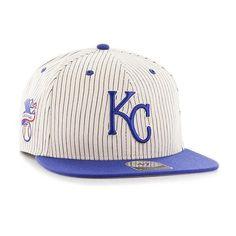 64e01c6d5560b Men s Flatbill Snapback Kansas City Royals Striped Hat