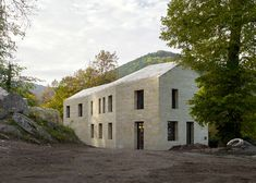 Take a look at castle specialist Max Dudler's latest German fortress project. #stone