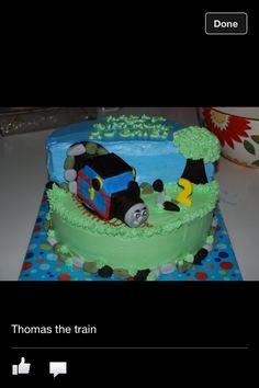 Poss cake train theme