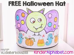 Freebielicious: Halloween Hat Freebie
