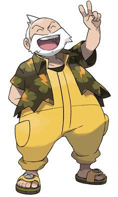 Wattson - Characters & Art - Pokémon Omega Ruby and Alpha Sapphire