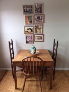Kitchen table...