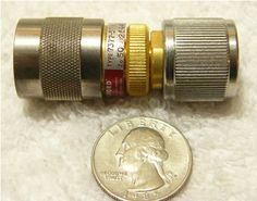 Adapter, APC-7 to SC male (rare!), part no. apc7-12