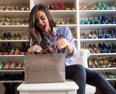 Shoe storage inspiration #shoes #Organise #BedroomWardrobe