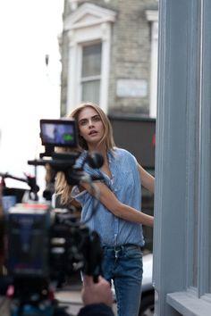 Cara Delevingne Stars In Pepe Jeans Campaign