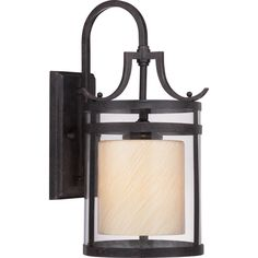 """View the Miseno MLIT0992B 17-1/4"""" Tall Single-Light Outdoor Wall Sconce with Clear Glass Shade at LightingDirect.com."""
