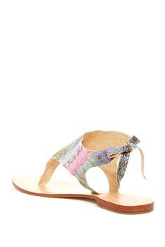Snake Tie Sandal by Cocobelle on @nordstrom_rack