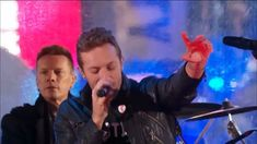 "U2 with Chris Martin on Vocals - ""Beautiful Day"" - Live in Times Square."