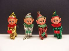 Ms Bingles Vintage Christmas... I have some similar ones. they are so cute! :)