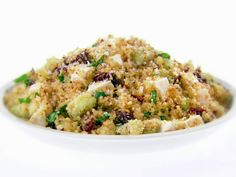 Fried Couscous Salad recipe from Giada De Laurentiis via Food Network