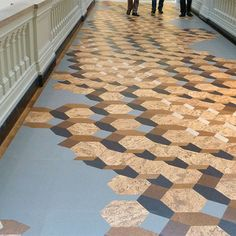This is a really neat cork floor.  Blog post by Todd Vendituoli.