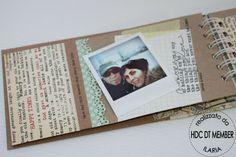 "Hobby di Carta - Il blog: ISPIRAZIONE: ""Minialbum 4 days in London"""