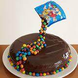 Torta per il compleanno della nipotina 13enne pronta!!! 😊