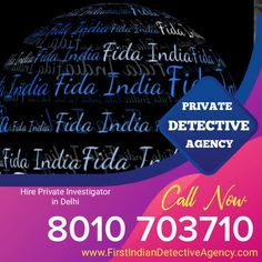 First Indian Detective Agency in Delhi (FIDA) is India's top private detective agency in Delhi NCR, India. We Offer Pre and Post matrimonial, personal and corporate investigation services in all over the India. Burning Questions, Detective Agency, Private Investigator, Investigations, Burns, India, Simple, Goa India, Study